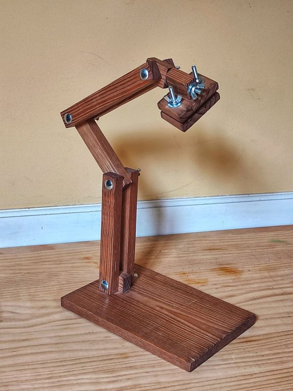 soporte movil de madera para bordado