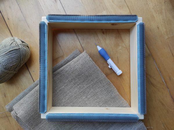 gripper strip frame para aguja magica